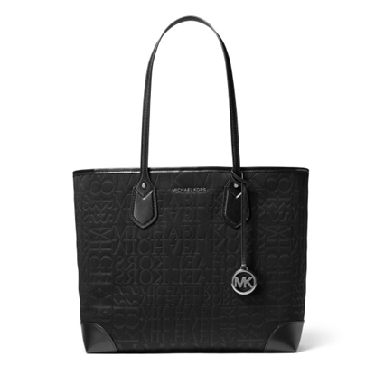 Picture of Michael Kors Eva Large Neoprene Tote - Black