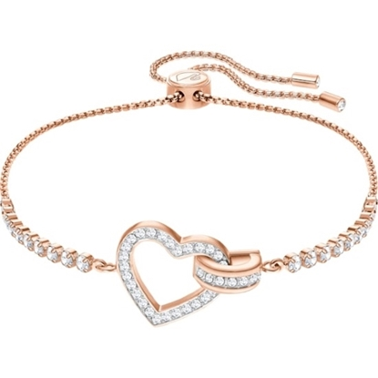 Picture of Swarovski Lovely Bracelet - Medium/Rose Gold
