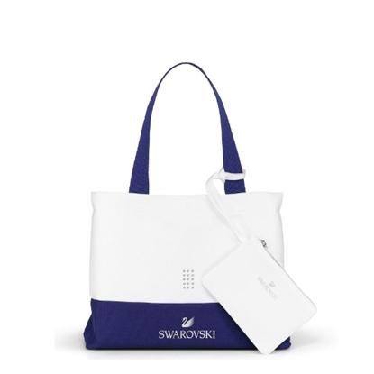 Picture of Swarovski White Collection Beach Bag