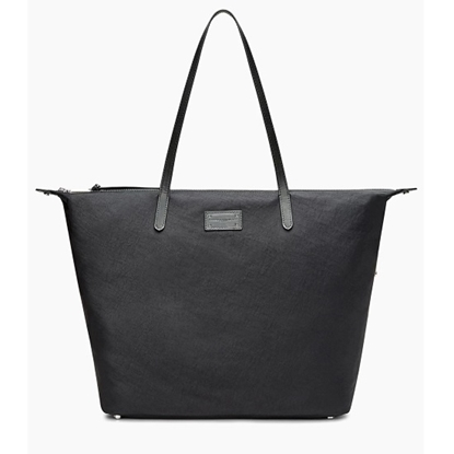 Picture of Rebecca Minkoff Washed Nylon Tote - Black