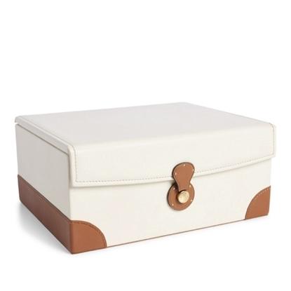 Picture of Ralph Lauren Ryan Box - Cream/Saddle