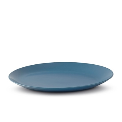 Picture of Nambe Platter - Aurora Blue