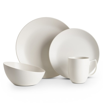 Picture of Nambe Starry White 4-Piece Place Setting