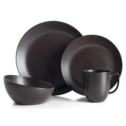 Picture of Nambe Celestial Black 4-Piece Place Setting