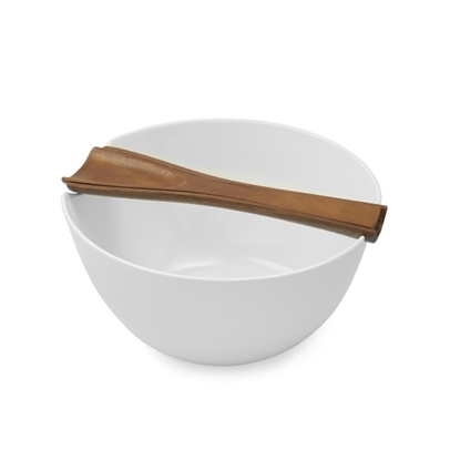 Picture of Nambe Quatro Salad Bowl with Server