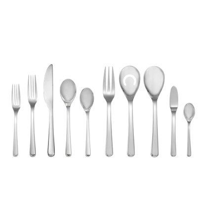 Picture of Nambe Aura 45-Piece Flatware Set