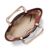 Picture of Michael Kors Bedford Medium Top-Zip Pocket Tote - Brandy