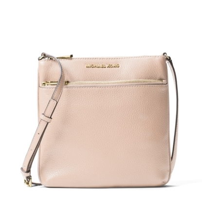 Picture of Michael Kors Jet Set Small Flat Crossbody - Soft Pink
