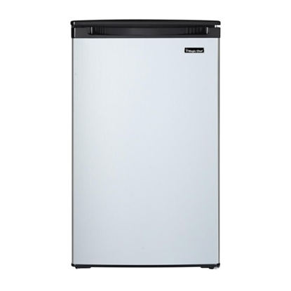 Picture of Magic Chef 4.4 Cu.Ft. Fridge with Push Defrost - Stainless