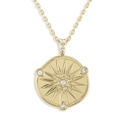 Picture of Lulu DK Aphrodite Necklace - 14k Gold-Plated Brass