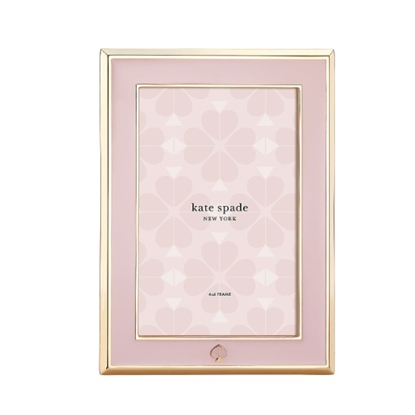 Picture of Kate Spade Spade Street Metal Blush 4x6 Frame