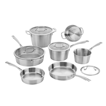 Picture of Cuisinart® Induction Conical 11-Piece Cookware Set