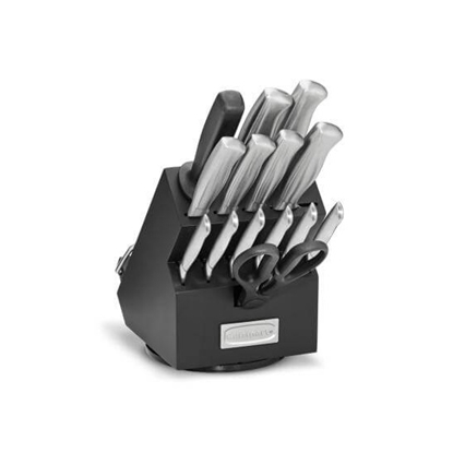 Picture of Cuisinart® 15-Piece Rotating Knife Block Set - Black