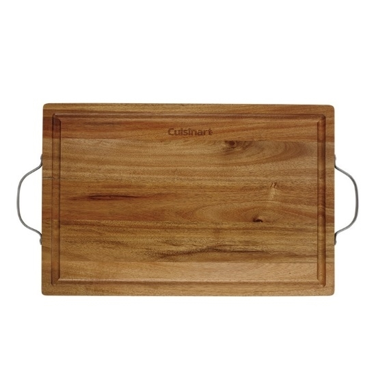 Picture of Cuisinart® 2-Handle Acacia Carving/Serving Board