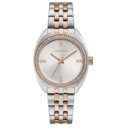 Picture of Bulova Caravelle NY Ladies' Two-Tone Stainless Steel Watch