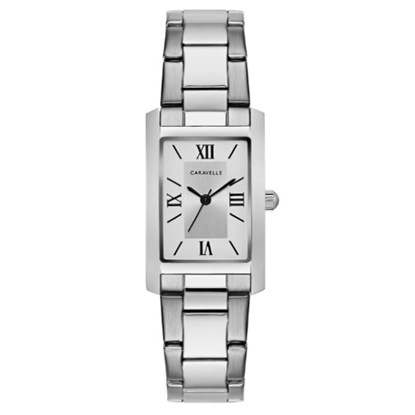 Picture of Bulova Caravelle NY Ladies' Steel Watch with Silver Dial