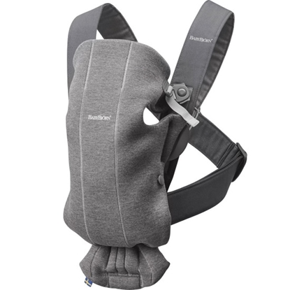 Picture of BabyBjorn Baby Carrier Mini 3D Jersey - Dark Grey