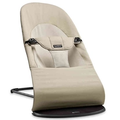 Picture of BabyBjorn Bouncer Balance Soft Cotton - Khaki/Beige