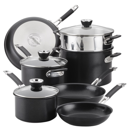 Picture of Anolon® SmartStack 10-Piece Cookware Set