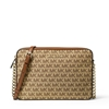 Picture of Michael Kors Jet Set Jacquard Large E/W Crossbod