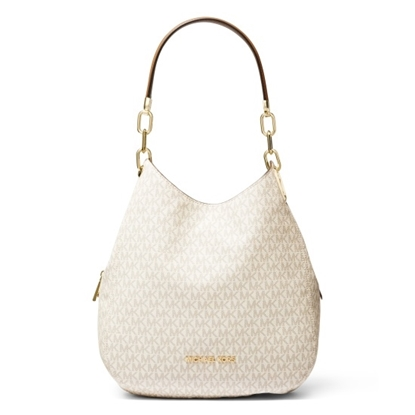 Picture of Michael Kors Lillie Signature Chain Shoulder Tote