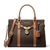Picture of Michael Kors Nouveau Hamilton Signature Satchel