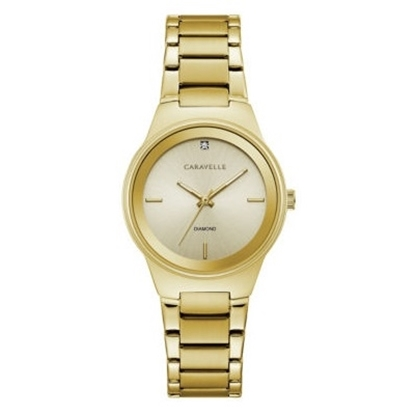 Picture of Bulova Caravelle NY Ladies' Gold-Tone Watch