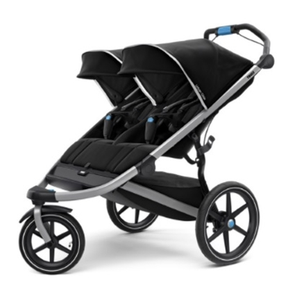 Picture of Thule® Urban Glide 2 Double - Black/Silver Frame