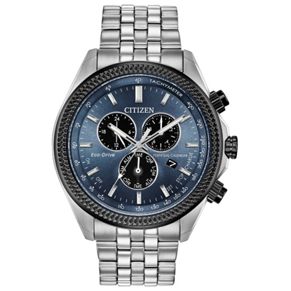 Picture of Citizen Men's Brycen Eco-Drive Watch with Blue-Gray Dial