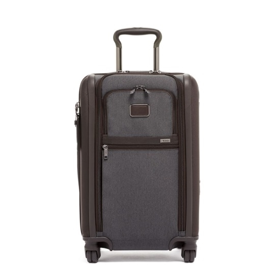 Picture of Tumi Alpha 3 Int'l Dual Access 4-Wheeled Carry-On - Anthracite