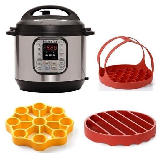 Picture of Instant Pot® Duo 8-Quart Pressure Cooker with OXO Accessories