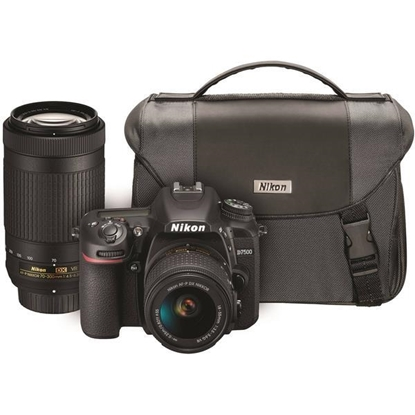 Picture of Nikon® D7500 DSLR Camera with Dual Zoom Lens Kit