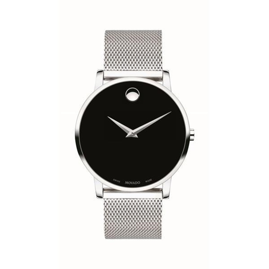 Picture of Movado® Museum Classic Stainless Steel Watch