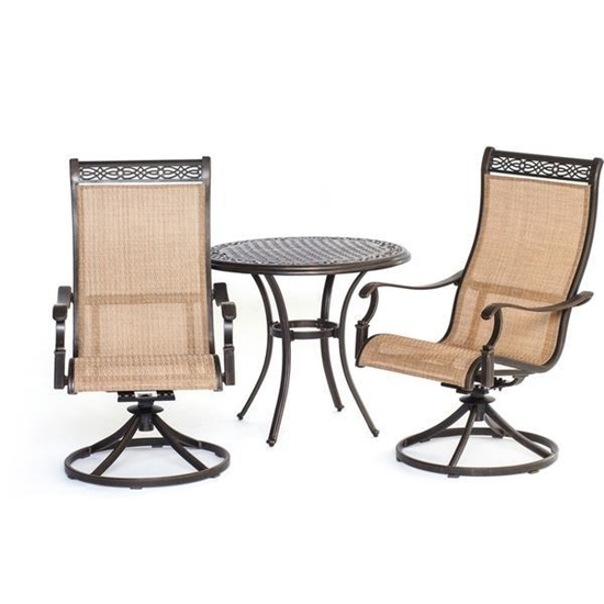 Picture of Hanover Manor 3-Piece Bistro Dining Set