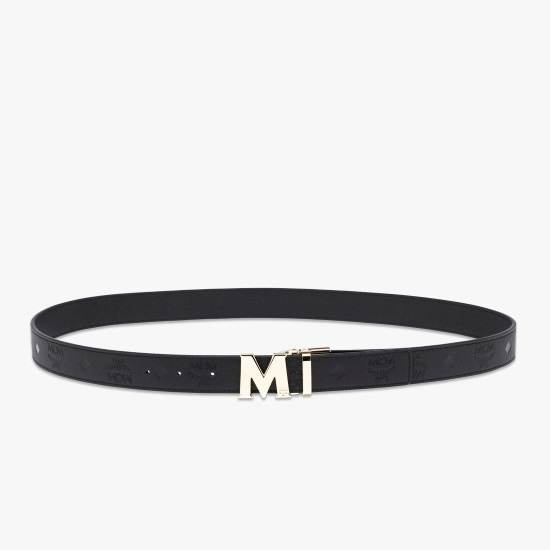 Picture of MCM Color Visetos Reversible Belt - Black