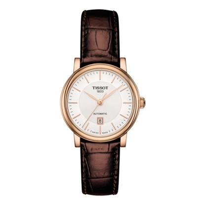 Picture of Tissot Carson Ladies' Automatic with Brown Leather Strap