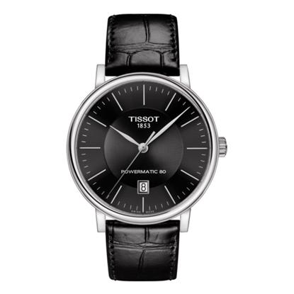 Picture of Tissot Carson Premium Powermatic 80 - Black Leather