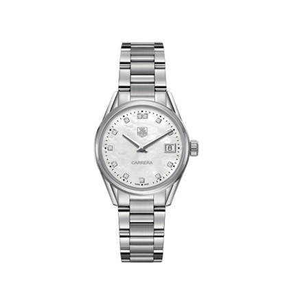 Picture of TAG Heuer Carrera Steel Watch with Diamond Dial
