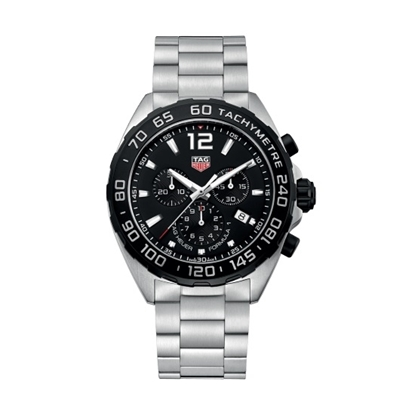 Picture of TAG Heuer Formula 1 Quartz Chrono with Black Dial