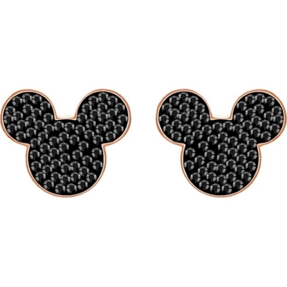 Picture of Swarovski Mickey & Minnie Pierced Earrings - Mickey