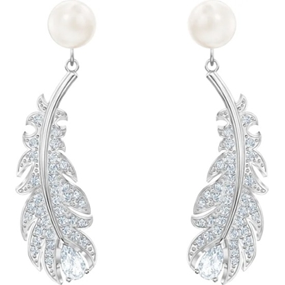 Picture of Swarovski Nice Pearl Pierced Earrings