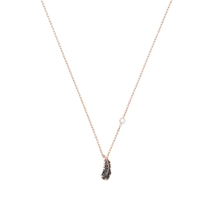 Picture of Swarovski Naughty Necklace Mini - Rose Gold/Jet