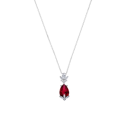 Picture of Swarovski Louison Red Pendant