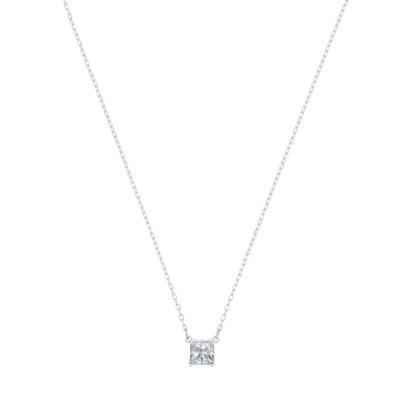 Picture of Swarovski Attract Necklace Square - Rhodium