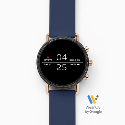 Picture of Skagen Falster Blue Silicone Display Smartwatch