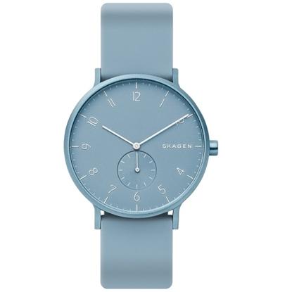 Picture of Skagen Aaren Light Blue Silicone Watch
