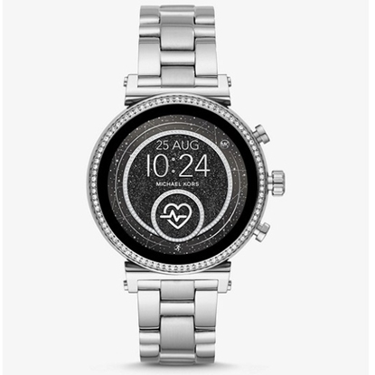 Picture of Michael Kors Sofie HR Stainless Steel Display Smartwatch