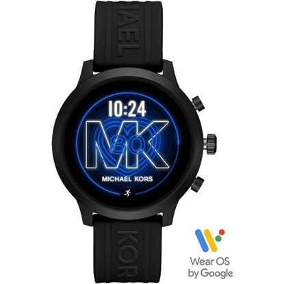 Picture of Michael Kors MKGO Black Silicone Display Smartwatch