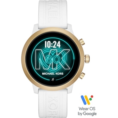 Picture of Michael Kors MKGO White Silicone Display Smartwatch