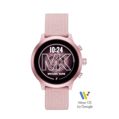 Picture of Michael Kors MKGO Pink Silicone Display Smartwatch